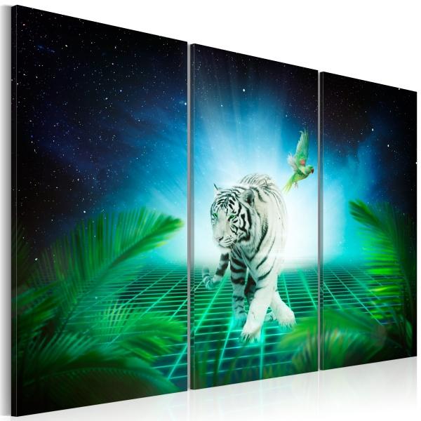 Obraz - Lodowy tygrys (60x40 cm) A0-N2918