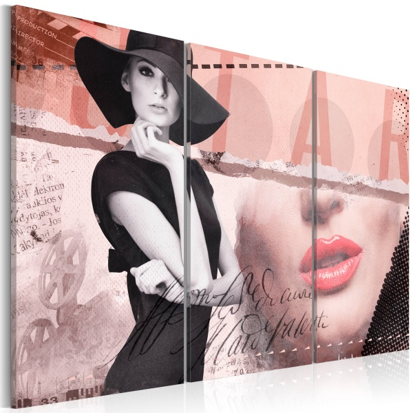 Obraz - Madame Chic (60x40 cm) A0-N2848