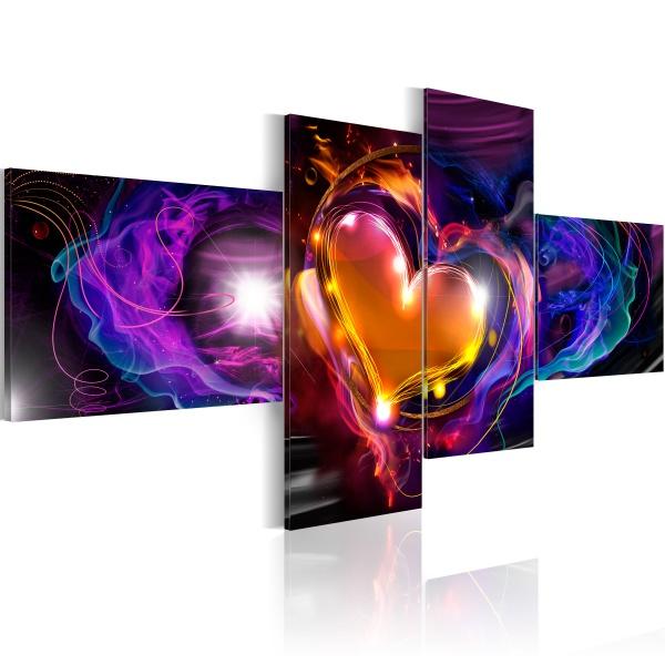 Obraz - Magia miłości (100x45 cm vlies-leinwand cm) A0-N2661