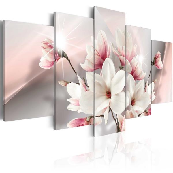 Obraz - Magnolia w rozkwicie (100x50 cm) A0-N3674
