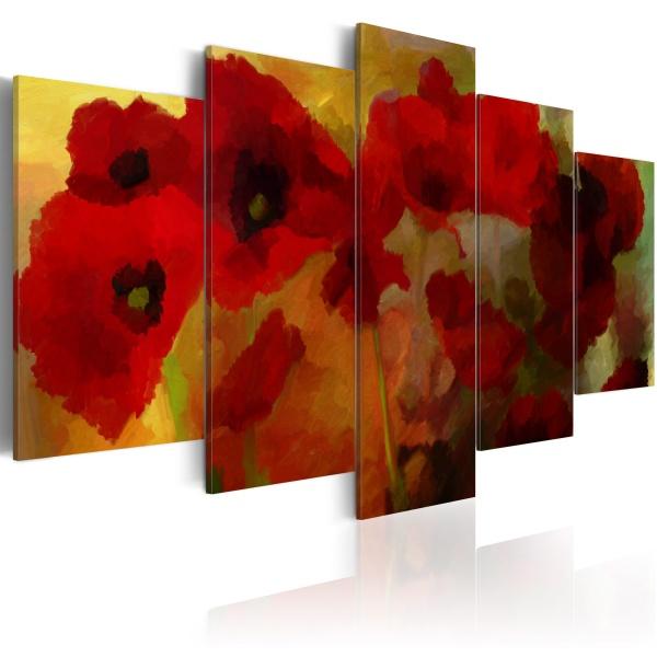 Obraz - Makowe impresje (100x50 cm) A0-N2379