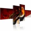 Obraz - Malutki ptaszek na czterech częściach A0-N1441
