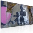 Obraz - Mały zabójca (Banksy) A0-N1802