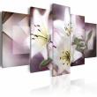 Obraz - Marzenia i lilie A0-N1699