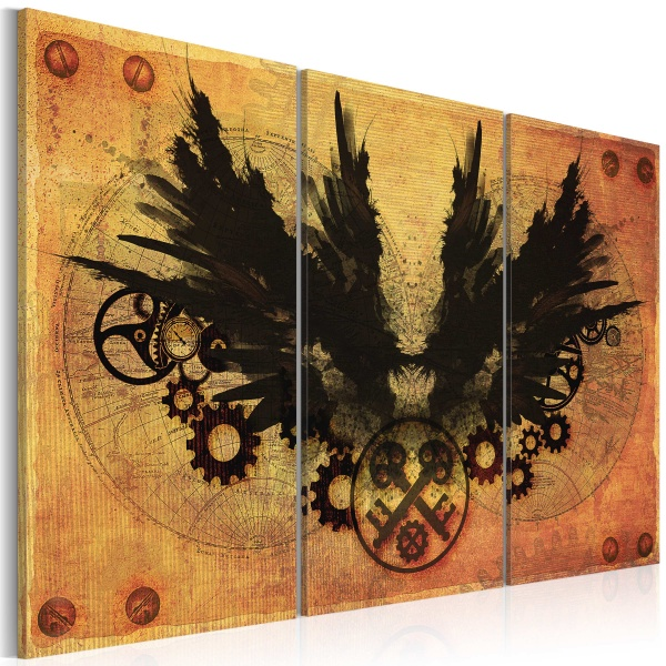 Obraz - Mechaniczne skrzydła (60x40 cm) A0-N2793