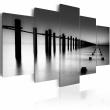 Obraz - Melancholijny widok na morze A0-N1382