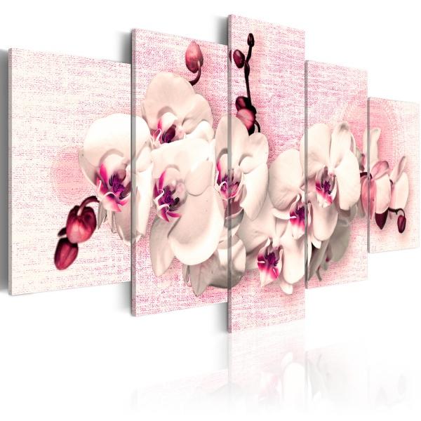 Obraz - Metafora kobiecości - 5 części (100x50 cm) A0-N2279