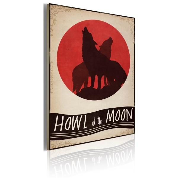 Obraz - Midnight wolves (50x70 cm) A0-OBRPLK22