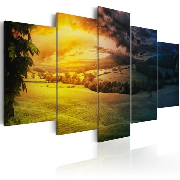 Obraz - Między nocą a dniem (100x50 cm) A0-N2580