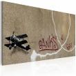 Obraz - Miłosny samolot (Banksy) A0-N1819