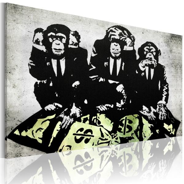 Obraz - Money is a problem II (60x40 cm) A0-N2926