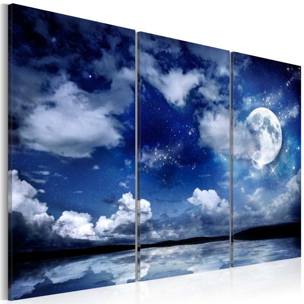 Obraz - Morze nocą (60x40 cm) A0-N3392