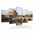 Obraz - Most św. Anioła o poranku A0-N1519