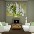 Obraz - Motyw z białymi kwiatami wiśni A0-N1479
