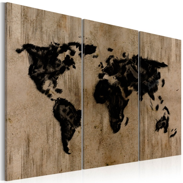 Obraz - Mysterious map of the World (60x40 cm) A0-N2062