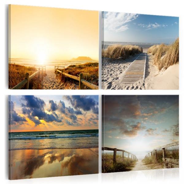 Obraz - Na plaży ze snów (40x40 cm) A0-N3754