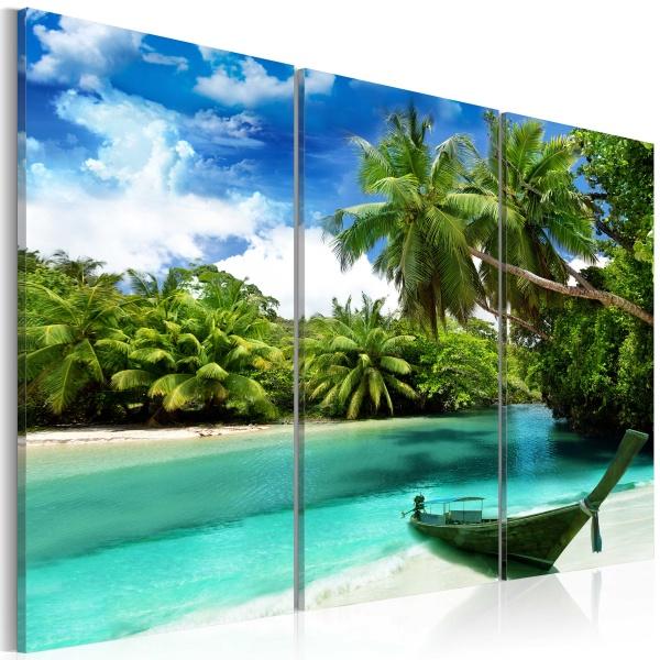 Obraz - Na wyspie marzeń (60x40 cm) A0-N3700