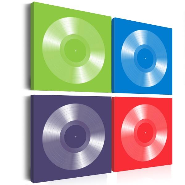 Obraz - Nagrody muzyczne (40x40 cm) A0-N1920