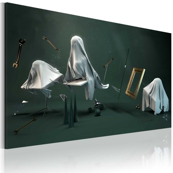 Obraz - Nawiedzona komnata (60x40 cm) A0-N2434