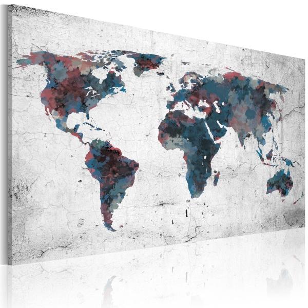 Obraz - Nieodkryte kontynenty (60x40 cm) A0-N2157