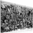 Obraz - Niesamowity widok na dachy Nowego Jorku A0-N1364