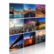 Obraz - Nowy Jork w dziewięciu odsłonach A0-N1784