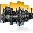 Obraz - NYC lustrzane odbicie - 5 części A0-N1828