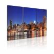 Obraz - NYC - miasto miliona świateł A0-N1704