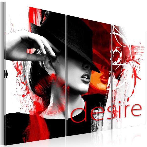 Obraz - Ogień pożądania (60x40 cm) A0-N2813
