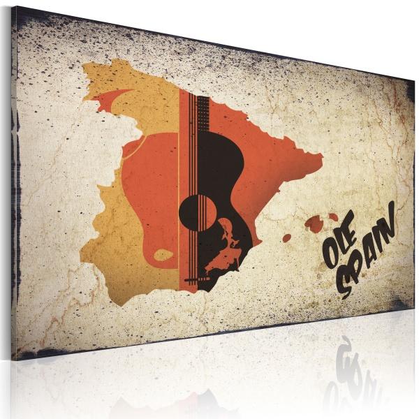 Obraz - ¡Olé! Spain (60x40 cm) A0-N2185