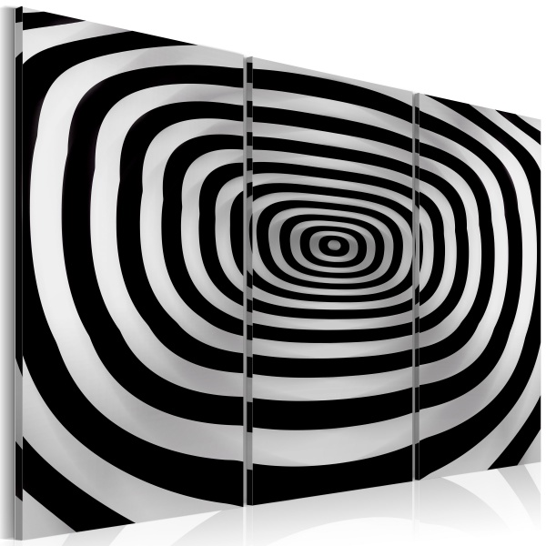 Obraz - op art - głębia (60x40 cm) A0-N2525
