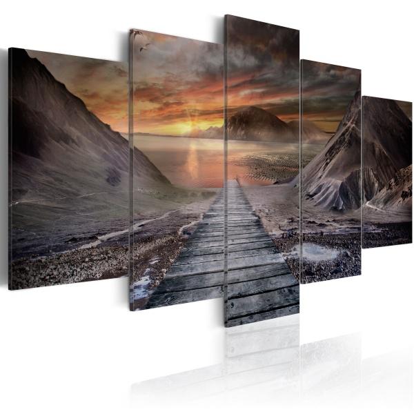 Obraz - Opuszczona kraina (100x50 cm) A0-N1849