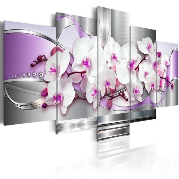 Obraz - Orchidea i fantazja (100x50 cm) A0-N2805