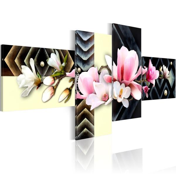 Obraz - orchidea - nowoczesny (100x45 cm) A0-N2204