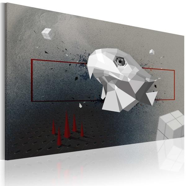 Obraz - orzeł - 3D (60x40 cm) A0-N2349