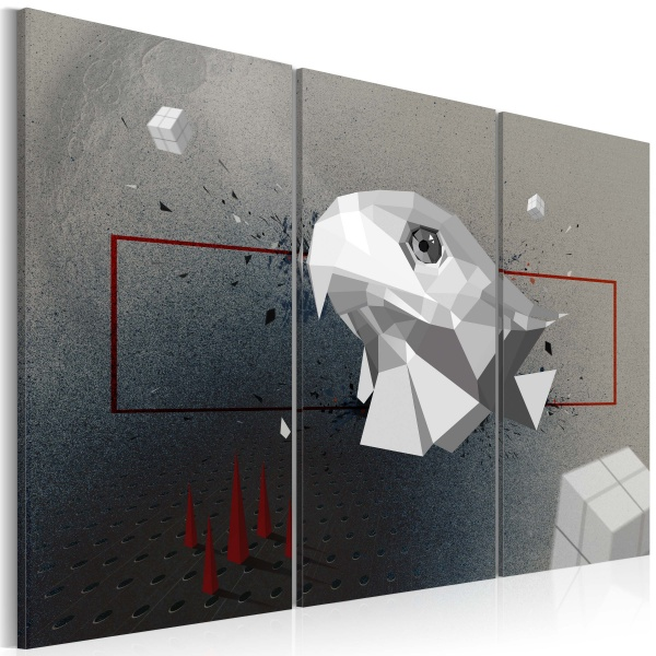 Obraz - orzeł - 3D - tryptyk (60x40 cm) A0-N2339