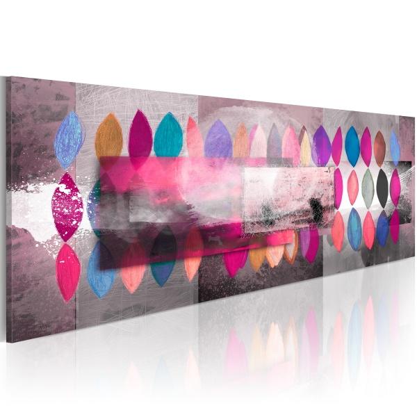 Obraz - Paleta barw (120x40 cm) A0-N2856