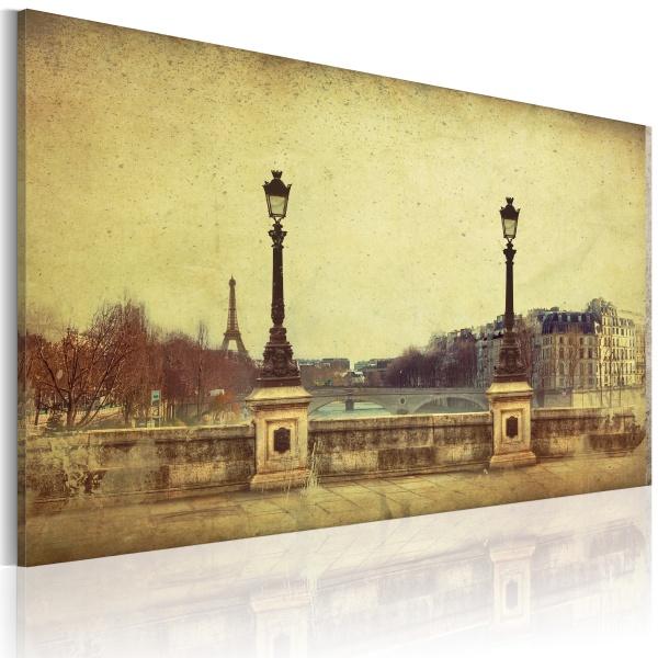 Obraz - Paryż - miasto marzeń (60x40 cm) A0-N2540