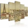 Obraz - Paryż poprzednich stuleci A0-N1781