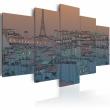 Obraz - Paryż - zapada zmrok A0-N1767