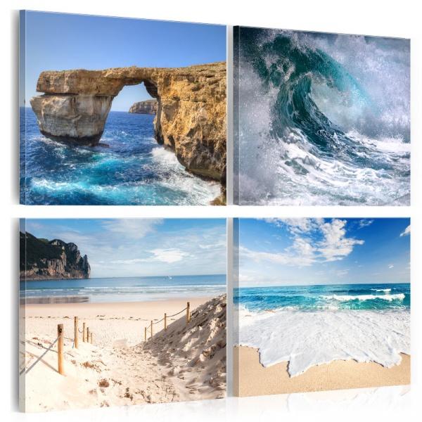 Obraz - Piękno oceanu (40x40 cm) A0-N3752