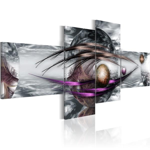 Obraz - Platinum planet (100x45 cm) A0-N2205