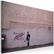 Obraz - Podążaj za marzeniami: Anulowano (Banksy) A0-N1812