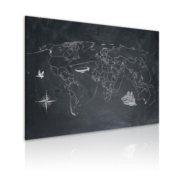 Obraz - Podróż dookoła świata (60x40 cm) A0-N2169