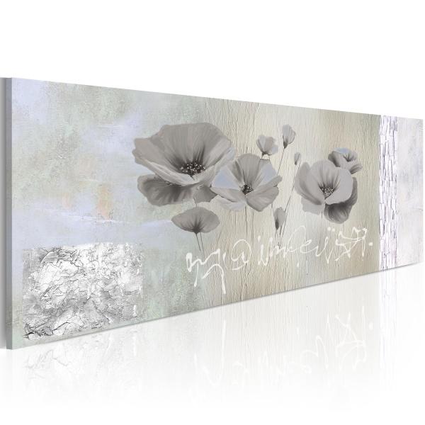 Obraz - Poppies in hibernation (120x40 cm) A0-N2640