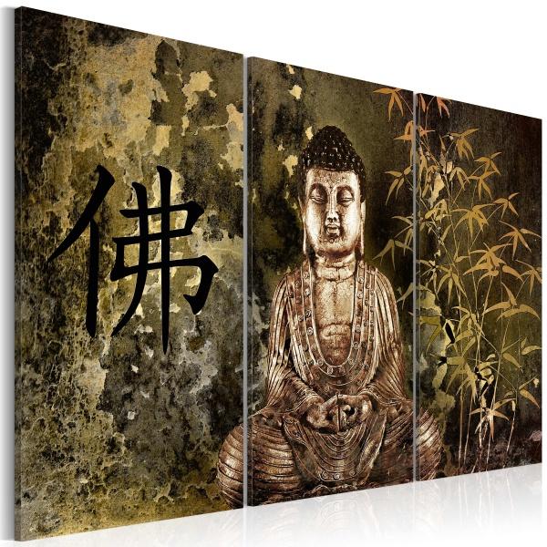 Obraz - Posąg Buddy (60x40 cm) A0-N2799