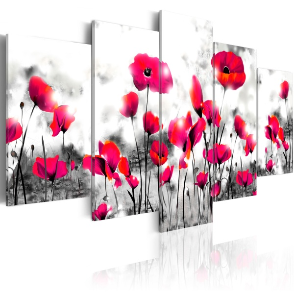 Obraz - Potępienie - 5 części (100x50 cm) A0-N2959