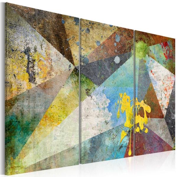Obraz - Przez pryzmat kolorów (60x40 cm) A0-N3726