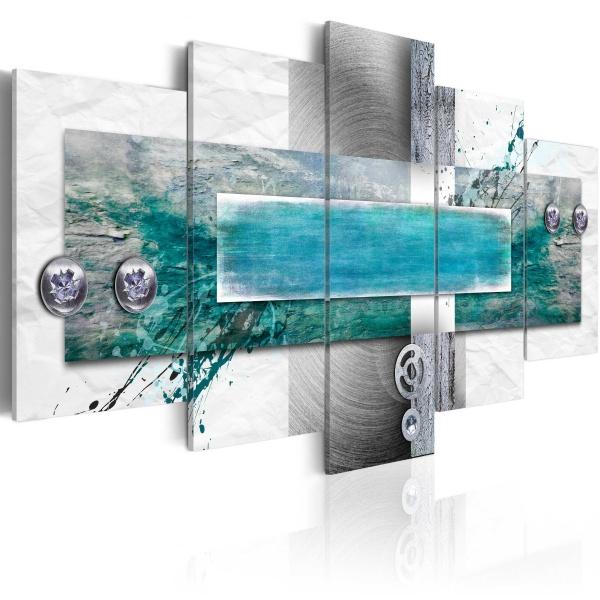 Obraz - Przypływ (100x50 cm) A0-N2972
