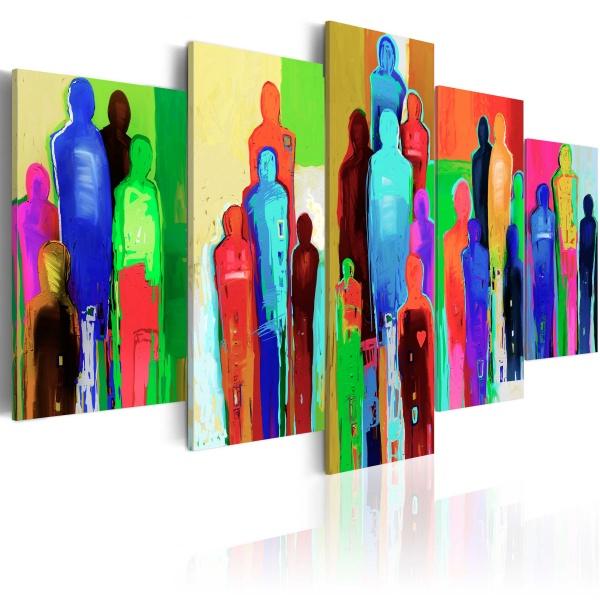 Obraz - Psychologia tłumu (100x50 cm) A0-N2460